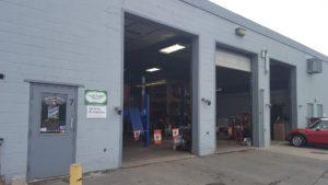 View of Sickbay Automotive bays